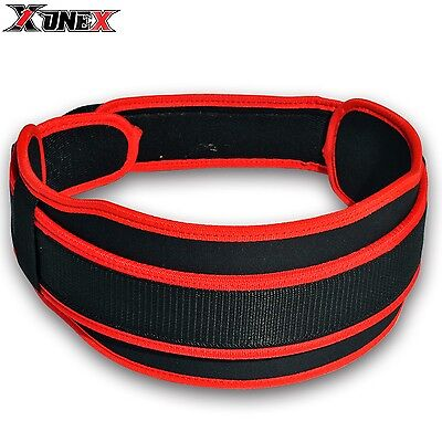 1X1 Gym Weight Lifting Neoprene Double Belt Back Support Fitness Exercise R B