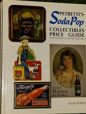 Petretti's Soda Pop Collectibles Price Guide HARDBACK Encyclopedia of Soda-Pop