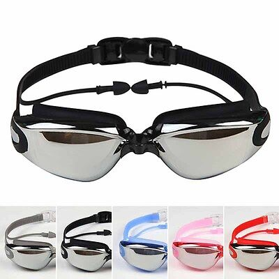 Anti-Fog Swimming Goggles for Men Women Boys Girls Adult Junior Kids with Earbud