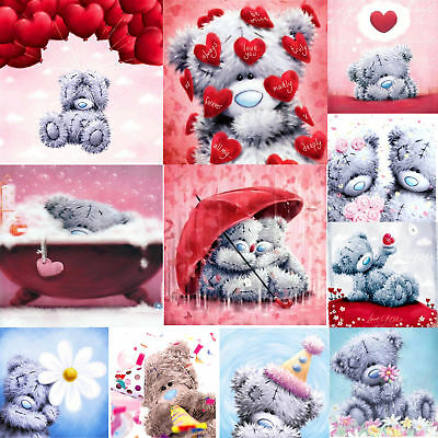 DIY 5D Heart Bear Diamond Embroidery Painting Cross Crafts Stitch Home Art Gift