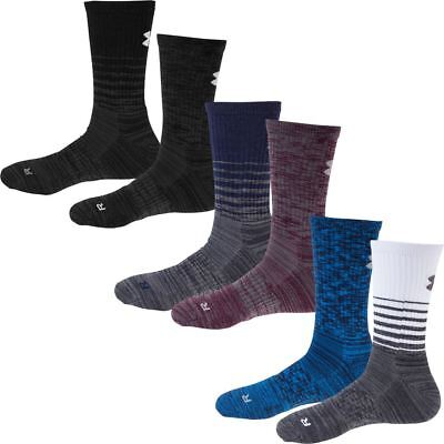 Under Armour 2018 Herren UA Golf Twisted Crew Sport Fitness Socken