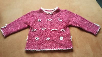 Pull FLoriane fille taille 18 mois.