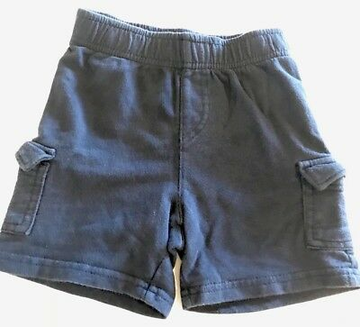Boys Blue Cotton Shorts Size 24 Months Jumping Beans