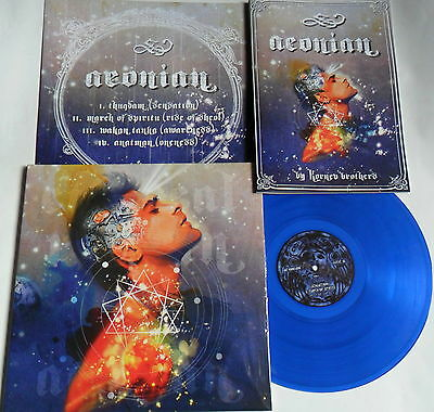 LP Ethereal Riffian Aeonian - Blue Vinyl - Nasoni Nr 141-100 Copies + Book