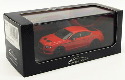 Almost Real 1/43 Scale 430402 - Bentley Continental GT3-R 2015 Red China Edition