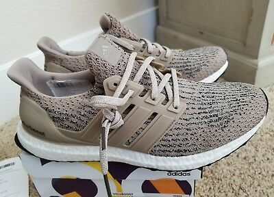 746124691 Men Adidas UltraBoost 3.0 Trace Khaki Clear Brown CG3039 Size 12.5 With  Receipt
