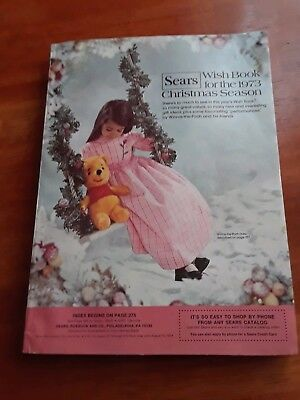 1973 SEARS Wish Book Christmas Catalog-toys, leisure suits,bell bottoms,  Barbie