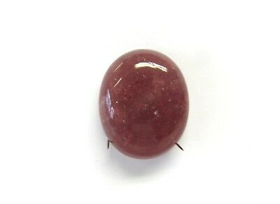 Erdbeerquarz - Strawberry Quartz Cabochon 26,6x21,8 mm 41 ct. U20062