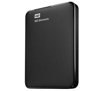 Western Digital Elements ext. Festplatte (WDBUZG0010BBK-EESN), 1 TB