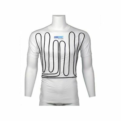 CoolShirt System 1011-2032 White Coolwater Shirt (Medium)