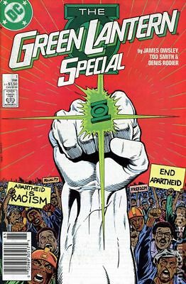 Green Lantern Special #1 1988 FN Stock Image