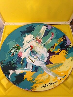Leroy Neiman Punchinello Plate Royal Doulton Collectors Numbered Edition 1978