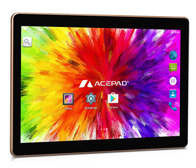 "Acepad A121 10 Zoll [10.1""] Tablet Pc 64Gb 2Gb Ram 3G Quad Core Dual Sim - 2017"