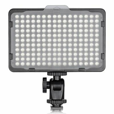 "Ultra Bright Dimmable Camera Video Light 176 Led 1/4"" Thread Mount 11W Neewer"