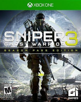 Sniper Ghost Warrior 3 Season Pass Edition - Xbox One - FREE SHIPPING