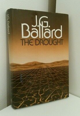 J. G. Ballard The Drought 1984 Review / Presentation Copy RARE 1st Cheap