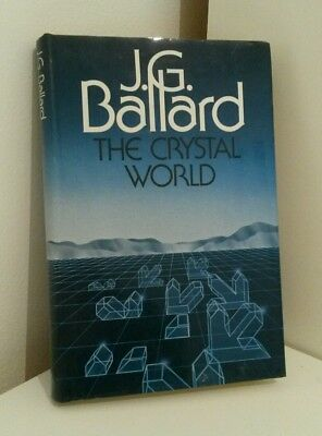 J. G. Ballard The Crystal World 1984 Review / Presentation Copy RARE 1st Cheap