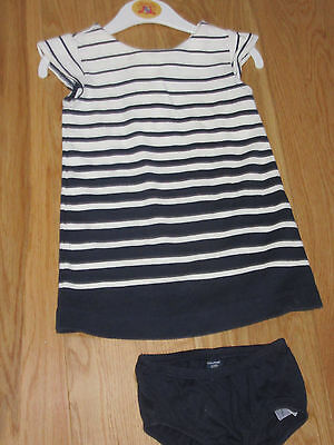 Lovely Baby Gap Girl's Stripey Tunic / Dress Set Size 12 – 18 months