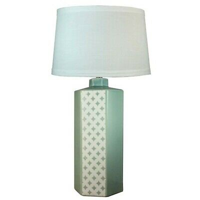 "Fangio Lighting 30"" Ocean Spray Crackle Lamp, Small Diamonds (3 Sides) - W-8867"