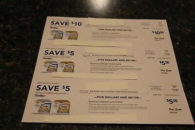 $20 worth of Similac Infant Formula Coupons