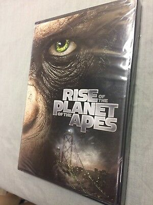 Rise of the Planet of the Apes NEW SEALED DVD Movie