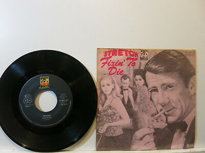 """Stretch - Fixin' to die / If the Cap fits 7"""" 1976 Anchor German PicCvr Near Mint"""