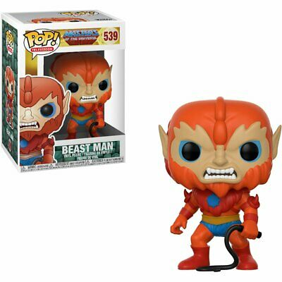 Funko Pop Television Masters Of The Universe Beastman Vinyl Action Figure