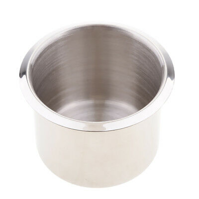 2.68'' Stainless Steel Recessed Cup Drink Holder for Marine Boat RV Camper