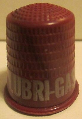 Lubri Gas The Correct Motor Fuel Chicago Advertising Thimble