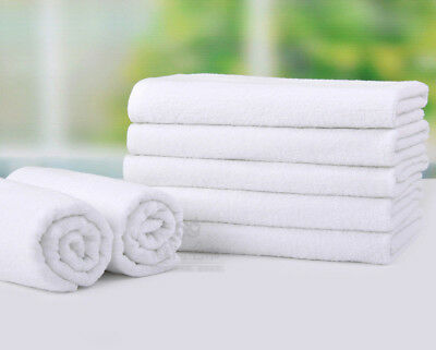 Beauty or Hairdressing Salon Treatment Towels.White Hand Towels. Size 70 X 40 cm
