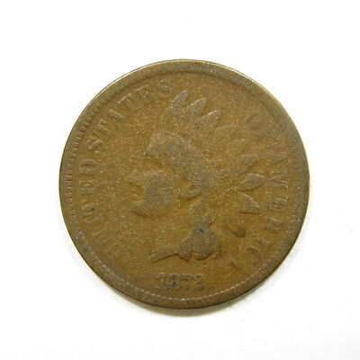 1872 Indian Head Penny Bronze Cent