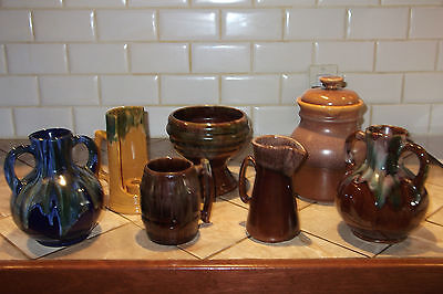 Lot Of 7 Beauce-Beauceware Potteries