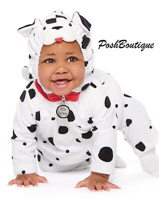 NWT Carter's Baby Infant Dalmation Dog Halloween Costume 3 6 9 12 18 24 Months