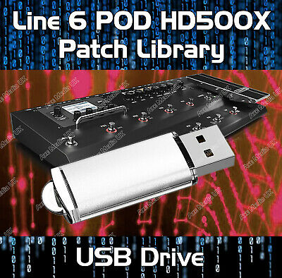 Line 6 Pod Hd500X Pre-Programmed Tone Patches Download 4400+ Guitar Effects