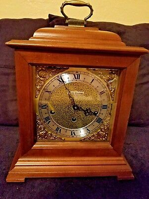 Seth Thomas Legacy Westminister Chime Mantle Clock #350-060 Great Condition!