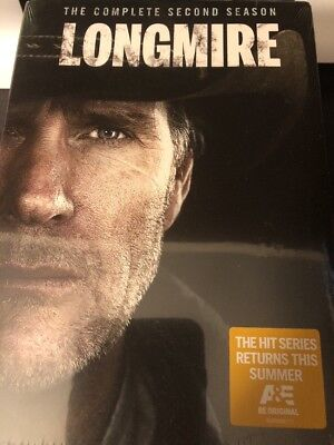 Longmire: 2nd Second Season 2 Two - New Sealed DVD Authentic