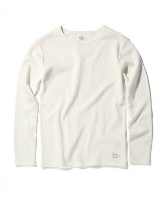 Outerknown Nomadic Thermal Top Mens in Chalk White
