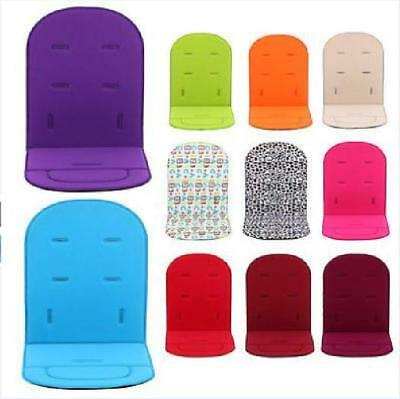 Baby Kids Stroller Pram Pushchair Car Seat Soft Washable Liner Pad Cushion Mat