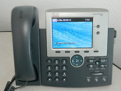 Cisco Cp-7945G 7940 Series Unified Colored Office Ip Phone Telephone (150+ Aval)