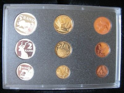 1997 9 Coin Proof Set Of South Africa