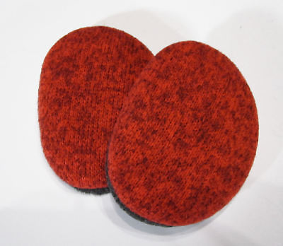 Sprigs Earbags Bandless Ear Warmer Thinsulate || Small Large || Red Sweater Knit