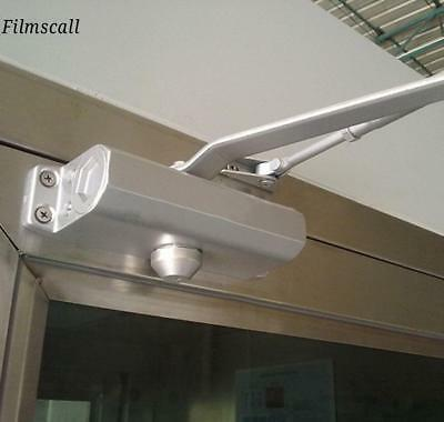 85-120kg Capacity Aluminum Alloy Commercial Door Closer Two Independent Valve