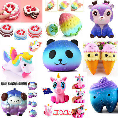 Jumbo Squishies Scented Charms Kawaii Squishy Squeeze Slow Rising Toy ON