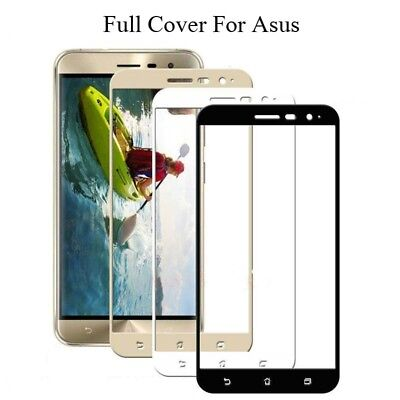 Full Cover Tempered Glass Screen Film For Asus Zenfone 3 Max ZC553KL All Models