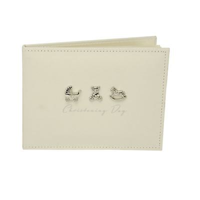Bambino Linen Christening Guest Book 3 Icons (12/24)