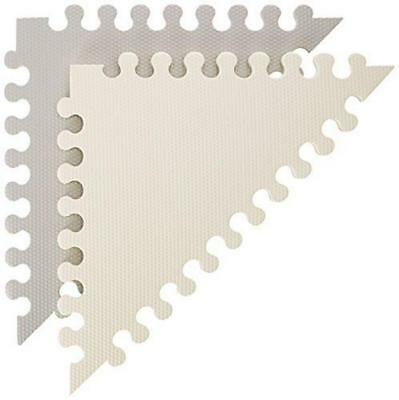 Playspot Geo Foam Floor Tiles (Grey/Cream) - Skip Hop Free Shipping!