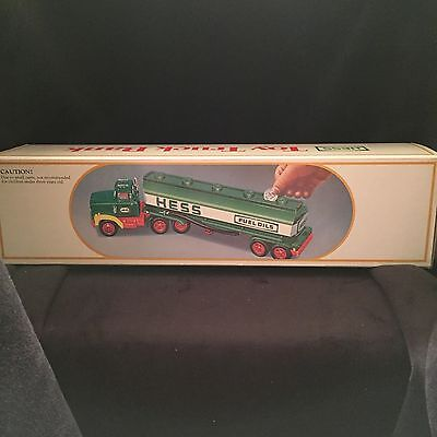 NEW 1984 Hess Toy Truck Bank In Unopened Box From Factory Case