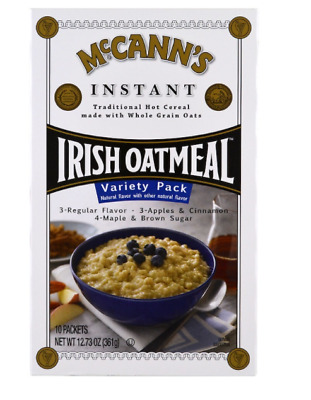 New Mccann's Irish Oatmeal Instant Variety Pack Cereals Breakfast Foods Healthy