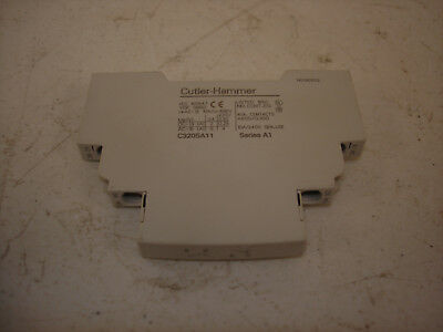 Cutler-Hammer C320SA11 Side Mount Auxiliary Contact 10A 240V