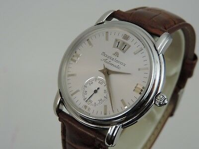 Maurice Lacroix Masterpiece Grand Guichet - Ref. 58789 - inkl. Box - ZB in silbe